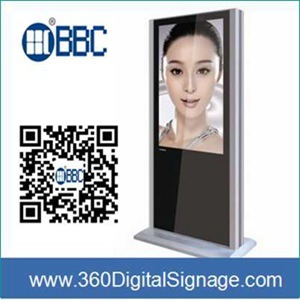 47′′ LCD Advertising Display Digital Signage Players with HD Large TFT Screen