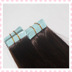 Wholesale Price 7A Grade Double Sided Tape Hair Extensions Ak28 pictures & photos
