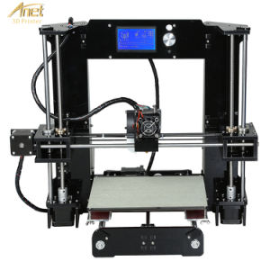 Anet Hotsale Printing Machine 3D Printer with One Touch Button LCD pictures & photos