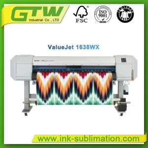 "Mutoh Vj-1638wx 64"" Double Cmyk or 8 Colour Sublimation Printer for Inkjet Print pictures & photos"