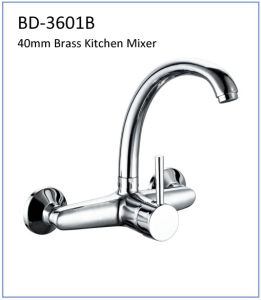 Bd3601d 40mm Brass Single Lever Kitchen Faucet pictures & photos