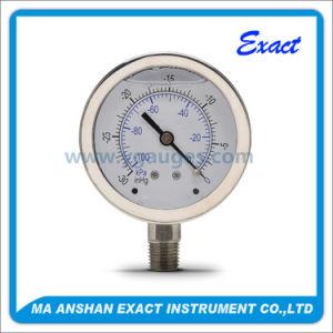 Negetive Pressure Gauge-Vacuum Pressure Gauge-Pressure Gauge pictures & photos