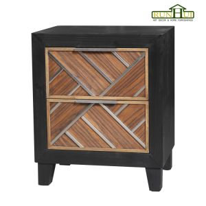 Dusk Two Doors Wooden Cabinet Home Furniture pictures & photos