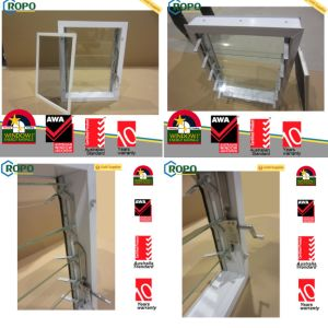 China Alibaba Hurricane Proof Aluminum Glass Window Shutters pictures & photos