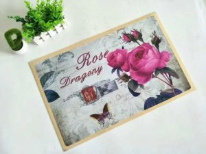 Printed Polyester Mats with PVC Backing pictures & photos