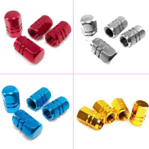 Aluminum Alloy Universal Air Nozzle Cap Tire Valves Cap Automobile Tyre Cap Anti Leakage Bicycle Tyre Dust Cap pictures & photos