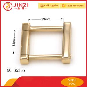 Screw Metal Square Ring High Quality Metal D Ring for Handbag pictures & photos