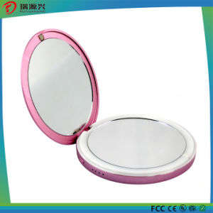 Slim Li-Polymer Power Bank with Cosmetic Mirror pictures & photos