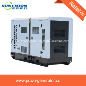 125kVA Cummins Generator Set Super Silent 60Hz with Big Fuel Tank pictures & photos