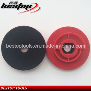 4 Inch Cheap Plastic Backing Pad with Snail Lock Connection pictures & photos