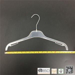 Simple Plastic Factory Clothes Top Hangers Hangers for Jeans pictures & photos