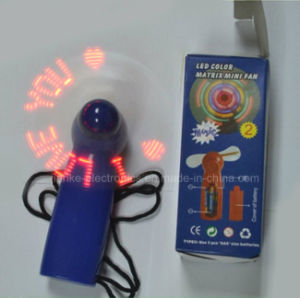 Top Selling LED Light Program Message Fans (3509) pictures & photos