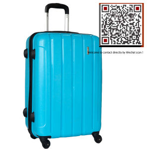 Strong Hard Shel Plastic L PP Trolley Luggage pictures & photos