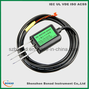 24V RS485 20mA Soil Moisture Temperature Sensor pictures & photos