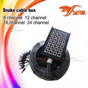Pure Copper 24 Channel Audio Snake Cable Box pictures & photos