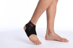 Sports Protective Ankle Support Adjustable Elastic Neoprene Fabric Ankle Strap pictures & photos