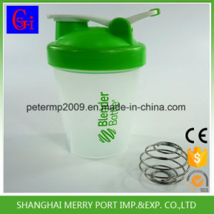 Food Grade High Quality Custom Water Bottle Shaker with Stainess Steel Mixer pictures & photos