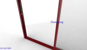 Aluminum Sliding Windows and Doors with Double Glazing pictures & photos