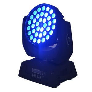 36 RGBW LED Disco Zoom Wash Moving Head Light for Stage pictures & photos