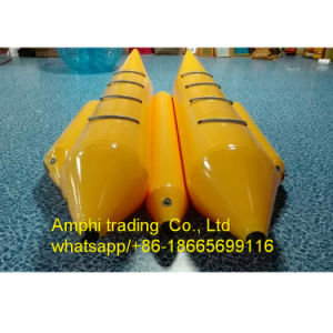 Hot Inflatable Banana Boat for Competition/Inflatable Double Lanes Water Boat pictures & photos