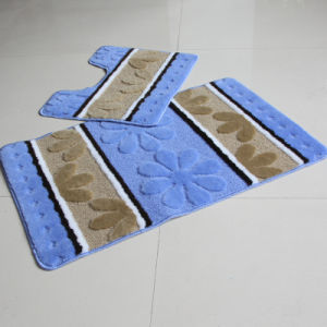 Non-Slip Base Bathroom Set 2 PCS Floor Mat pictures & photos