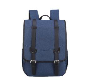 15.6 Inch Waterproof Laptop Travel Backpacks Double Shoulders School Bags pictures & photos