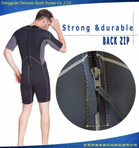 Men′s Neoprene Short Sleeve Freediving Wetsuit for Surfing Diving pictures & photos