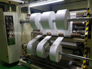 Automatic Adhesive Paper Roll Slitting Machine pictures & photos