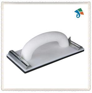 Arched Grip Gray Plastic Plate Frame Black Foam Trowel pictures & photos