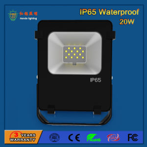 110lm/W IP65 20W SMD3030 LED Floodlight pictures & photos