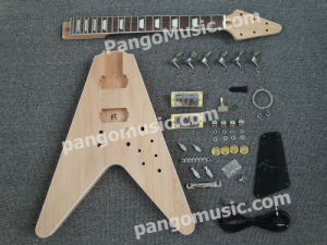 Pango Flying V DIY Electric Guitar Kit / DIY Guitar (PFV-903K) pictures & photos