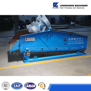 Silica Sand Screen Machine, Dewatering Vibrating Screen Ts 1225 pictures & photos