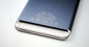 Crystal Light Ray Carve Logo Mobile Power 5000-10000mAh pictures & photos