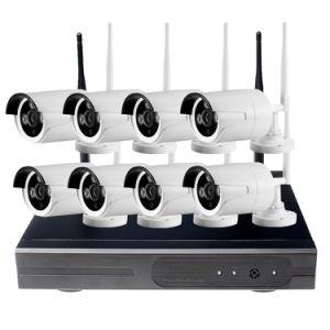 CCTV System 720p NVR 4/8PCS P2p 720p HD Outdoor pictures & photos