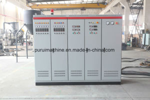 Waste HDPE Milk Bottle Flakes Recycling Granulation Machinery pictures & photos