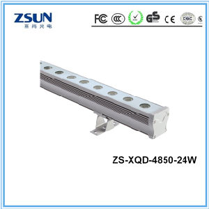 24W IP65 LED Wall Washer 3000k 24LEDs 100lm/W DC24V pictures & photos
