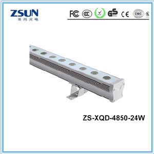 24W IP65 LED Wall Washer 3000k 24LEDs 100lm/W DC24V