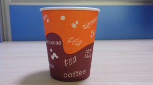 Disposable Hot Coffee Paper Cup with Lids pictures & photos