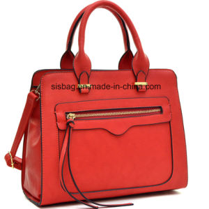 High Quality Designer Zip Women Hand Bag PU Ladies Bag pictures & photos
