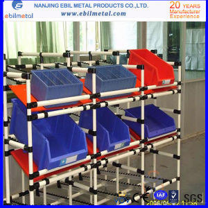 Flow Strip/Warehouse Cheapest Plastic Coated Pipe Rack pictures & photos