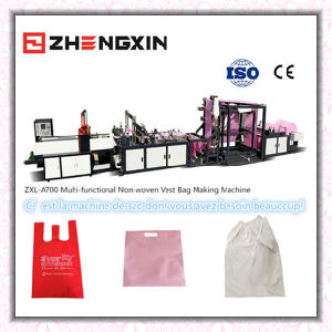 Multi-Functiont-Shirt Bag Making Machine (ZXL-A700) pictures & photos