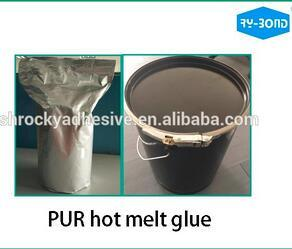Rocky Light Yellow Roller Coating Pur Adhesive for Textile Application pictures & photos