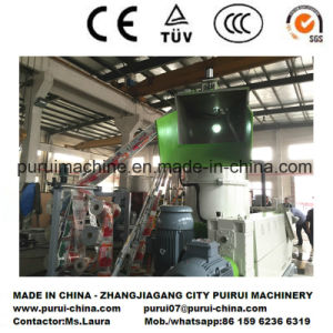 Plastic Film Recycling Pelletizer for Light Printed Blown Film pictures & photos