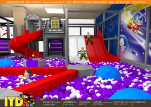 Sleek Universe-Themed Indoor Soft Playground with Electrical/ Inflatable Toys pictures & photos