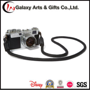 Quality Black Neck Polyseter Rope Leather Camera Straps pictures & photos