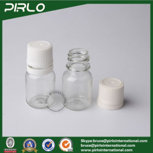 12ml Transparent Pet Plastic Bottle with Tamper Proof Cap Empty Pharmaceutical Pill Bottle pictures & photos