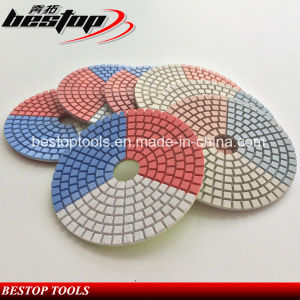 Diamond Resin Polishing Pads for Stones pictures & photos