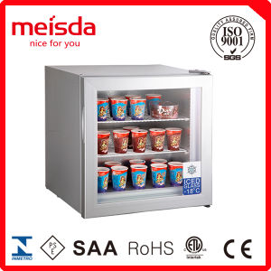 55L Mini Counter Top Display Freezer pictures & photos