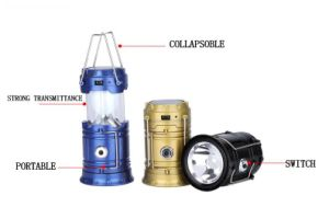 Outdoor Hiking LED Camping Solar Lantern pictures & photos
