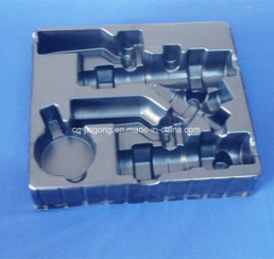 Ball Valve Set Tray Black PS Tray Blister Packing Tray pictures & photos